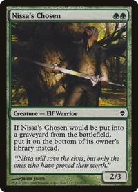 Nissa's Chosen, Magic: The Gathering, Zendikar