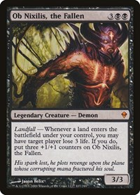 Ob Nixilis, the Fallen (Foil)