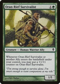 Oran-Rief Survivalist, Magic: The Gathering, Zendikar