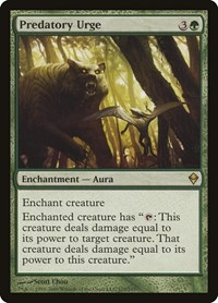 Predatory Urge, Magic: The Gathering, Zendikar