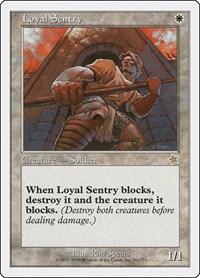 Loyal Sentry, Magic: The Gathering, Starter 1999