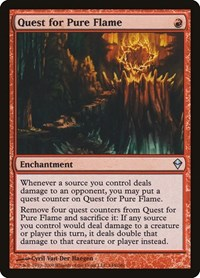 Quest for Pure Flame, Magic: The Gathering, Zendikar