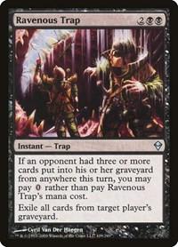 Ravenous Trap, Magic: The Gathering, Zendikar
