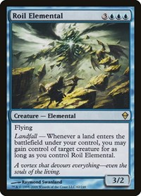 Roil Elemental, Magic, Zendikar