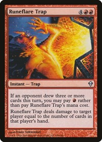 Runeflare Trap, Magic: The Gathering, Zendikar