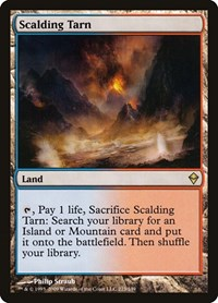 Scalding Tarn, Magic: The Gathering, Zendikar