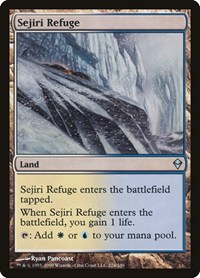 Sejiri Refuge, Magic: The Gathering, Zendikar
