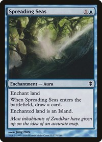 Spreading Seas (Foil)