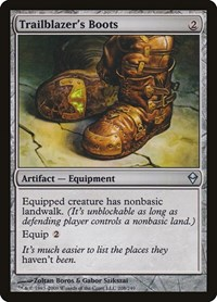 Trailblazer's Boots, Magic: The Gathering, Zendikar