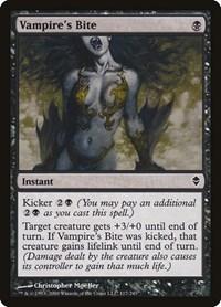 Vampire's Bite, Magic: The Gathering, Zendikar