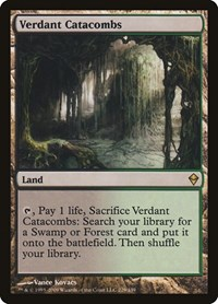 Verdant Catacombs, Magic: The Gathering, Zendikar