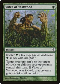 Vines of Vastwood, Magic, Zendikar