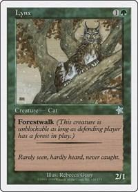 Lynx, Magic: The Gathering, Starter 1999
