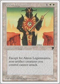 Akron Legionnaire, Magic: The Gathering, Chronicles