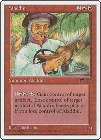 Aladdin, Magic: The Gathering, Chronicles