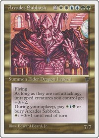 Arcades Sabboth, Magic: The Gathering, Chronicles