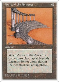 Arena of the Ancients, Magic: The Gathering, Chronicles