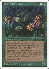 Argothian Pixies, Magic: The Gathering, Chronicles