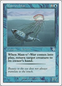 Man-o'-War, Magic: The Gathering, Starter 1999