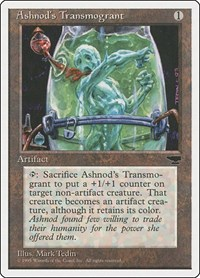 Ashnod's Transmogrant, Magic: The Gathering, Chronicles