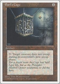 Barl's Cage, Magic: The Gathering, Chronicles