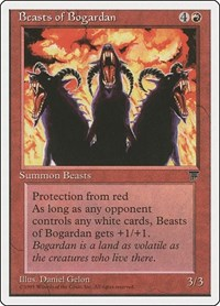 Beasts of Bogardan, Magic: The Gathering, Chronicles