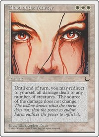 Blood of the Martyr, Magic: The Gathering, Chronicles