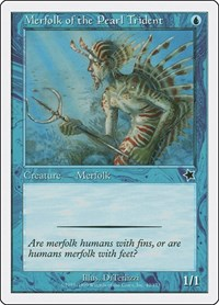 Merfolk of the Pearl Trident, Magic: The Gathering, Starter 1999