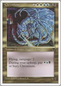 Chromium, Magic: The Gathering, Chronicles