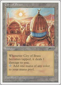 City of Brass, Magic: The Gathering, Chronicles