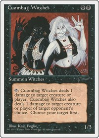 Cuombajj Witches, Magic: The Gathering, Chronicles