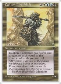 Dakkon Blackblade, Magic: The Gathering, Chronicles