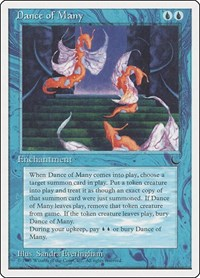 Dance of Many, Magic: The Gathering, Chronicles