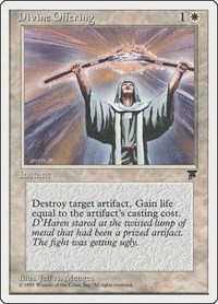 Divine Offering, Magic: The Gathering, Chronicles