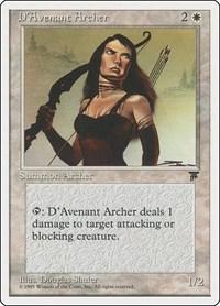D'Avenant Archer, Magic: The Gathering, Chronicles