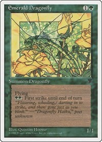Emerald Dragonfly, Magic: The Gathering, Chronicles