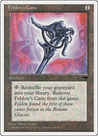 Feldon's Cane, Magic: The Gathering, Chronicles
