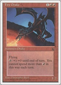 Fire Drake, Magic: The Gathering, Chronicles