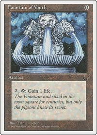 Fountain of Youth, Magic, Chronicles
