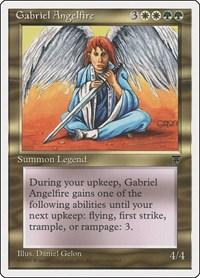 Gabriel Angelfire, Magic, Chronicles