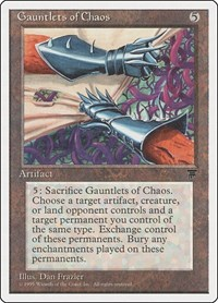 Gauntlets of Chaos, Magic: The Gathering, Chronicles