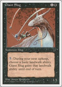 Giant Slug, Magic: The Gathering, Chronicles