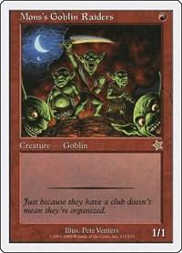 Mons's Goblin Raiders, Magic: The Gathering, Starter 1999