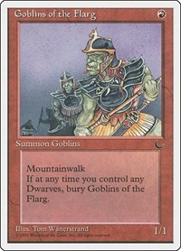 Goblins of the Flarg, Magic: The Gathering, Chronicles