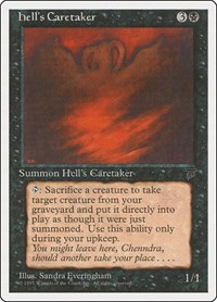 Hell's Caretaker, Magic: The Gathering, Chronicles