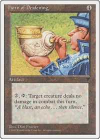 Horn of Deafening, Magic: The Gathering, Chronicles