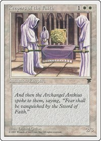 Keepers of the Faith, Magic: The Gathering, Chronicles