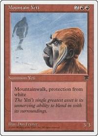 Mountain Yeti, Magic: The Gathering, Chronicles