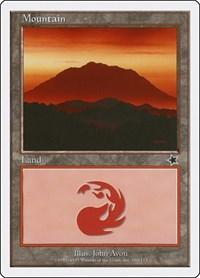 Mountain (166), Magic: The Gathering, Starter 1999