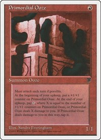 Primordial Ooze, Magic: The Gathering, Chronicles
